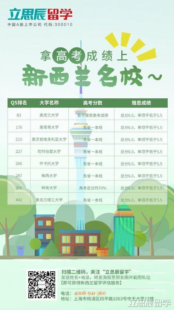 新西兰留学:新西兰留学和中国高考的区别
