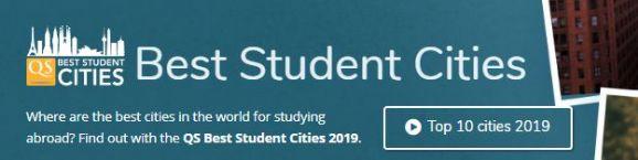 2020QS全球最佳留学城市榜出炉!加拿大五所城市上榜!