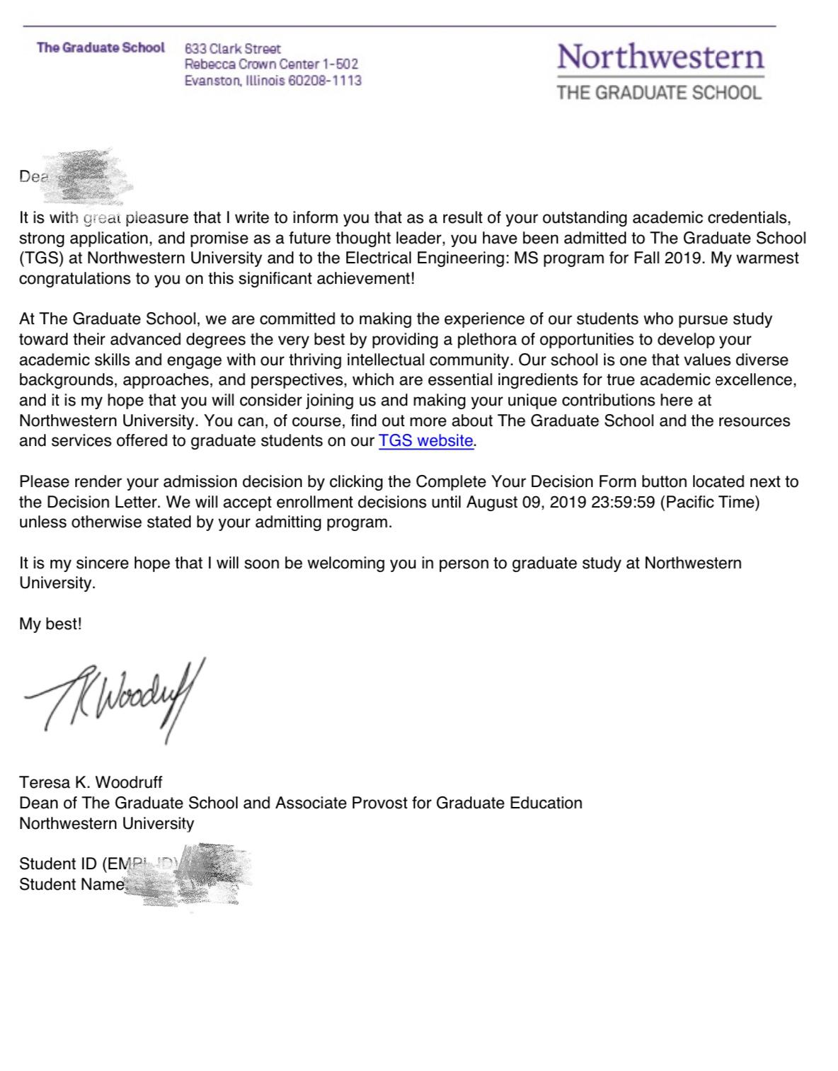 低GPA完美逆袭拿下西北大学offer!