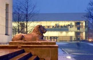 哈勒-维腾贝格大学风光