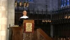 亚马逊总裁Jeff Bezos在普林斯顿大学演讲风光