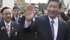 习近平参观泰国朱拉隆功大学孔子学院