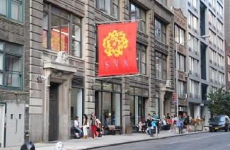 纽约视觉艺术学院风光