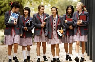 科若娃圣公会女子学校风光