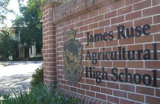 詹姆士鲁塞农业中学风光