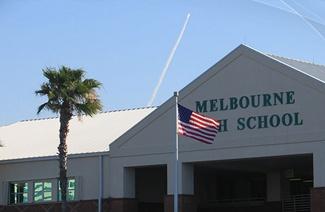 墨尔本中学风光