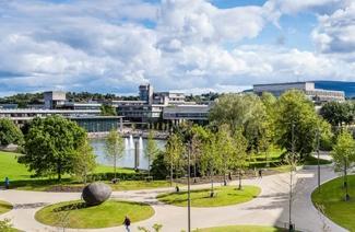 爱尔兰都柏林大学风光