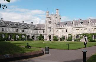 爱尔兰科克大学风光