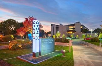 明尼阿波利斯艺术设计学院风光