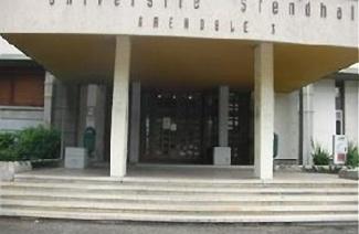 格勒诺布尔第三大学风光