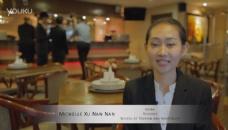 新加坡管理发展学院旅游酒店管理学生的采访视频