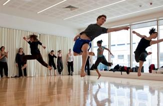 伦敦现代舞蹈学院风光
