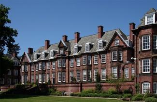 纽曼大学风光