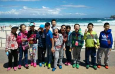 澳洲黄金海岸热力英语营12天