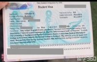 H同学7月通过立思辰留学360去新西兰就读语言课程顺利获得预科证!