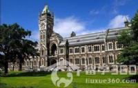 新西兰奥塔哥大学主校园位于新西兰的但尼丁市