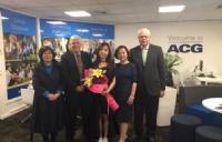 ACG大学预科优秀毕业生陈雅迪分享:感激我的校长和老师