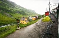在挪威旅游~~这列火车你可坐过!