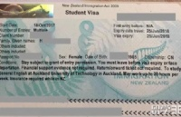 恭喜H同学读AUT语言及会计研究生课程顺利获签,没电调