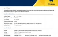 国内本科无学位证申到澳洲名校通知书