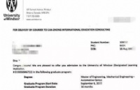 GPA2.9,雅思均分同步提升,最终顺利拿到温莎大学录取通知书