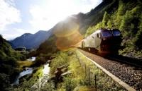 挪威弗洛姆高山火车