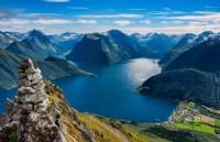 挪威的弗洛姆高山火车