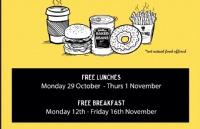 Unitec免费早午餐发放,犒劳即将迎来期末考的同学们