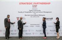 泰莱大学与万豪国际(MARRIOTT INTERNATIONAL)合作,未来全世界五星酒店可见到泰莱学生