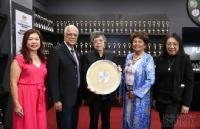 Limkokwing University创始人兼总裁获粉红丝带健康基金会的表彰