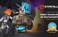 用实力说话,林国荣创意科技大学开发的教育游戏Starfall Catalyst获得5星评级