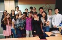 自信源于努力,恭喜韩同学圆梦英迪大学
