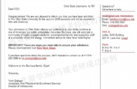 专业指导,成功申请俄亥俄州立大学、佛吉尼亚理工大学、马里兰帕克分校录取通知书