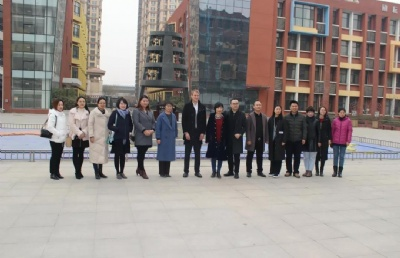 【活动回顾】由河北立思辰留学360举办的美国高中校长团访问北京师范大学石家庄附属学校活动圆满成功