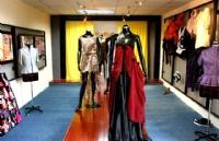 莱佛士设计学院学生,参加伦敦毕业生时装周