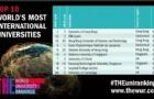 泰晤士2019全球国际化大学排名发布:香港大学登顶!美国依旧霸主!