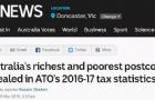 澳大利亚最穷最富地区公布!多个华人区上榜,你在这些地方吗?