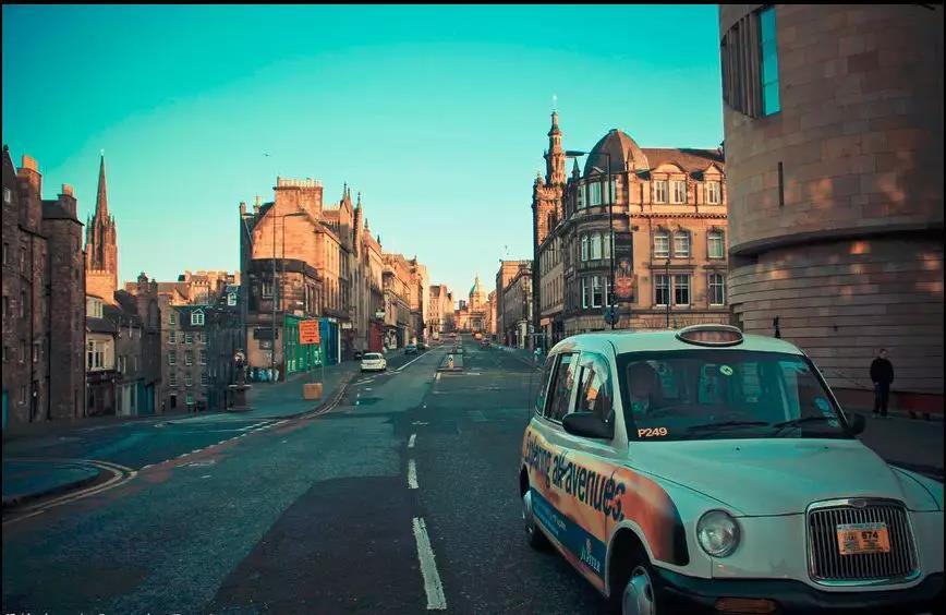 流浪在Edinburgh的前世今生...