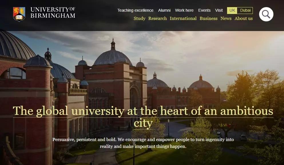 畅游英国大学官网!挑选你中意的专业!
