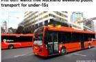 福利来了!奥克兰15岁以下儿童,或可免费搭乘公交车!