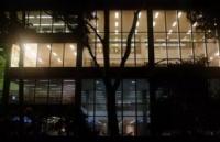 墨大图书馆24小时开放,校园保安免费护送