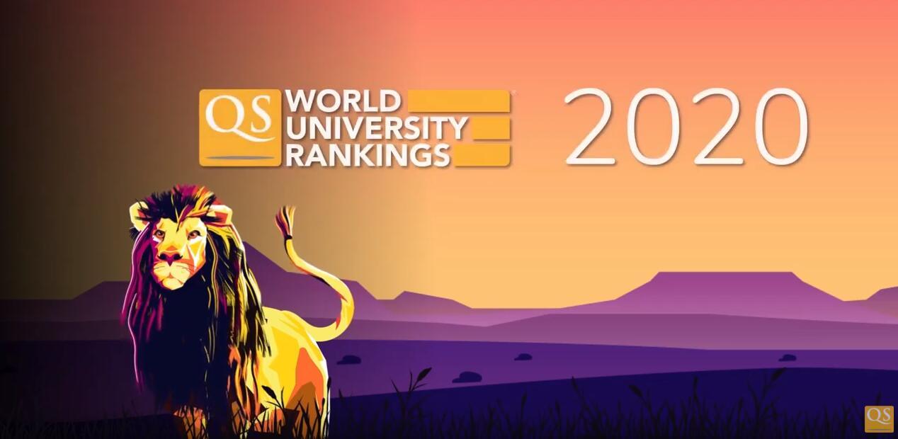 2020年QS世界大学排名发布!英国四校稳居前十