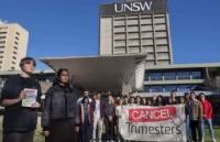 UNSW三学期制遭学生强烈抗议!新学制让我们压力真的很大!