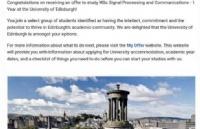 早准备!早申请!宁诺本科大三学子喜获UCL及爱丁堡offer