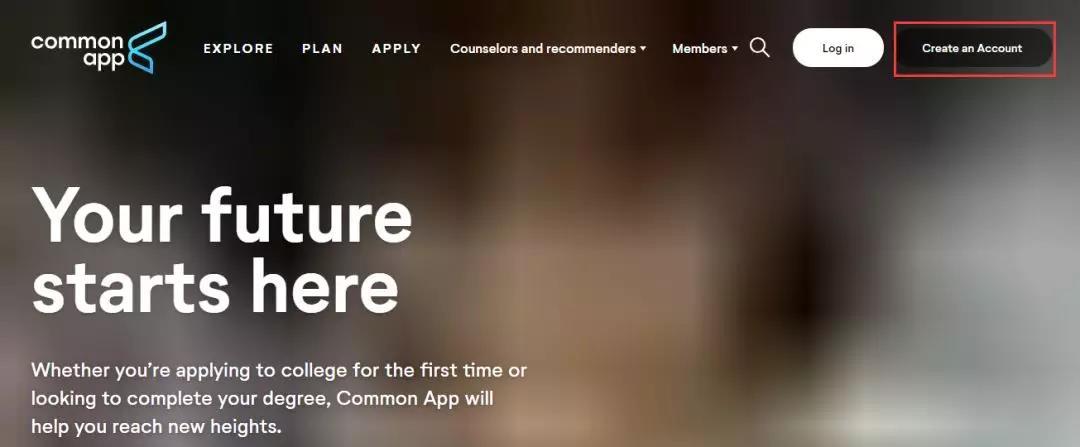 2019-2020美国本科新生申请正式拉开帷幕!附Common App注册指南