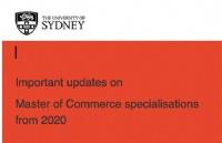 号外!号外!号外!悉尼大学重要课程调整信息