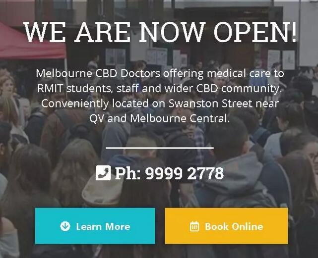 RMIT校诊所开业留学生免费!墨大莫纳什也有优惠!
