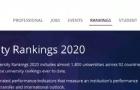 2020泰晤士世界大学排名出炉!加拿大这所大学上升几十名!