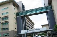 莫纳什大学马来西亚校区每年在中国大陆录取多少研究生?