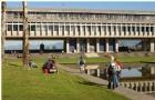 加拿大温哥华市中心西蒙菲莎大学